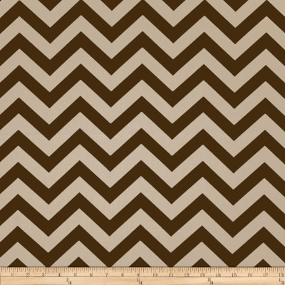 Premier Prints Zig Zag Village Brown/Natural