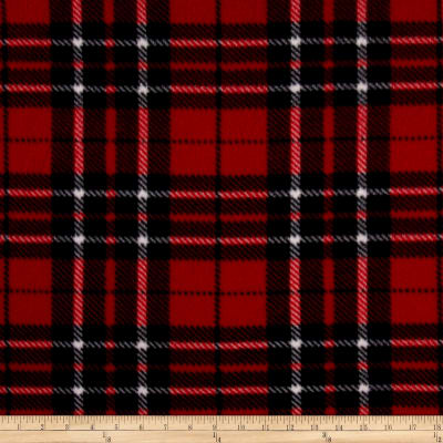 WinterFleece Classic Plaid Red/Black