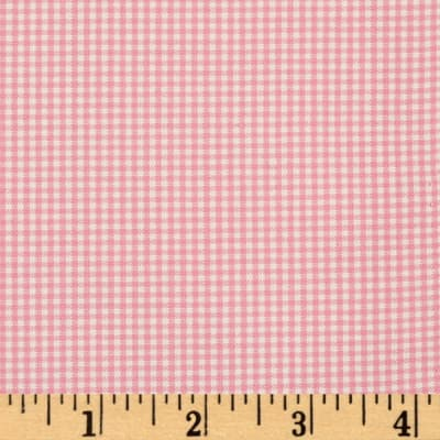 Kaufman 1/16'' Carolina Gingham Candy Pink