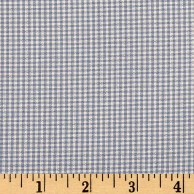 Kaufman 1/16'' Carolina Gingham Periwinkle