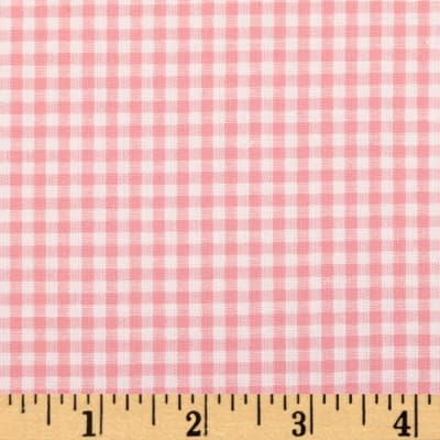 Kaufman 1/8'' Carolina Gingham Pink