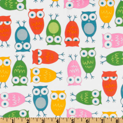 Urban Zoologie Owls White/Multi