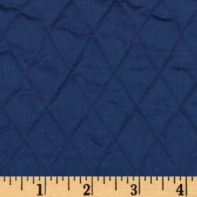 Single-Sided Quilted Broadcloth Fabric Navy