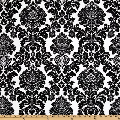 Michael Miller Delovely Damask Ebony