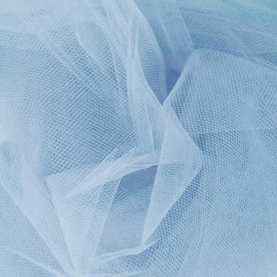 108'' Apparel Grade Tulle Cotillion Blue