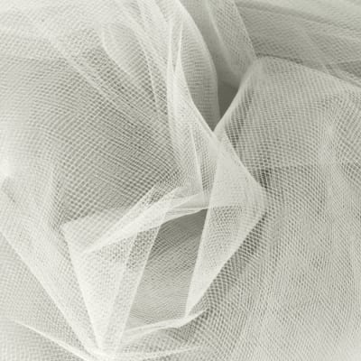 54'' Apparel Grade Tulle Diamond White