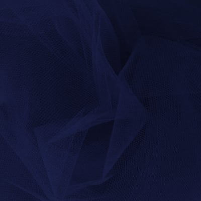 54'' Apparel Grade Tulle Navy