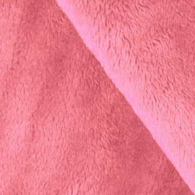 Shannon Minky Solid Cuddle 3 Coral