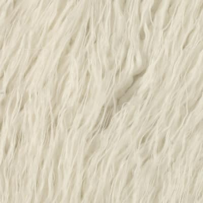 Shannon Lux Fur Curly Mongolian White