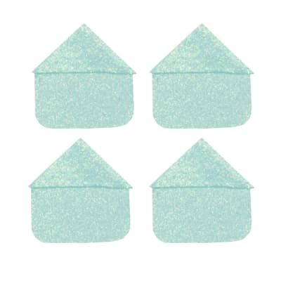 Martha Stewart Crafts Photo Corners Pale Blue Glitter