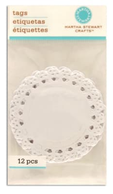 Martha Stewart Crafts Tags Die-Cut Lace