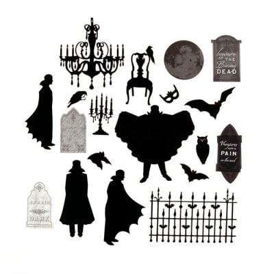Martha Stewart Crafts Stickers Vampire Acetate Diecuts