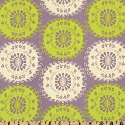 Pernilla's Journey Linen Blend Tapestry Limeade Ice