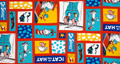 The Cat In The Hat Character Blocks Celebration Multi