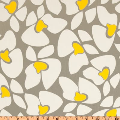 Premier Prints Helen Twill Storm/Yellow