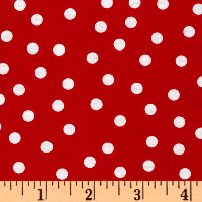 Remix Polka Dots Red