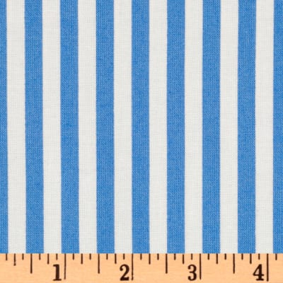 Michael Miller Retro Clown Stripe Blue