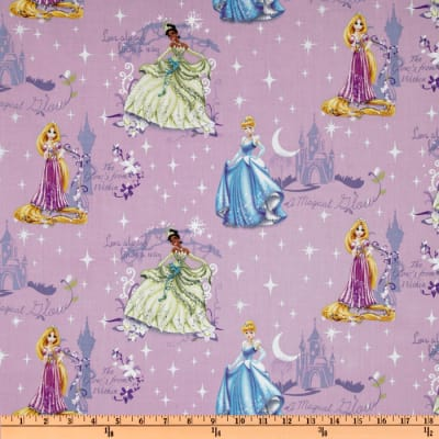 Disney Princess Beautiful Glow Scenic Purple
