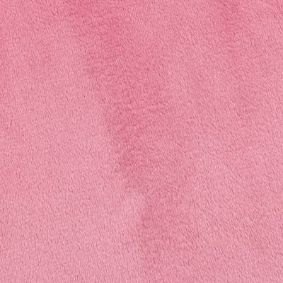 Shannon Minky Solid Cuddle 3 Paris Pink