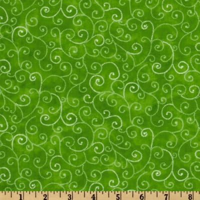 Moda Marble Swirls (9908-66) Green