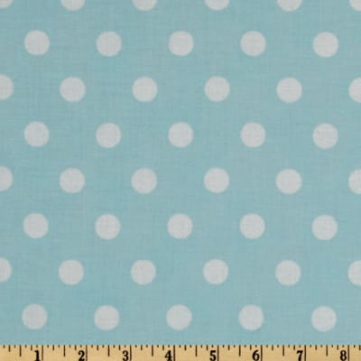 Moda Dottie (#45008-22) Baby Blue/White