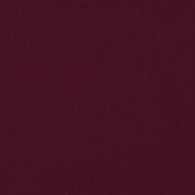 Cotton Broadcloth Garnet