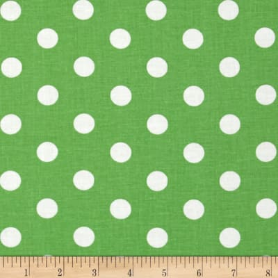 Spot On Polka Dots Lime Green