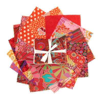 Kaffe Fassett Fat Quarter Bundle Red