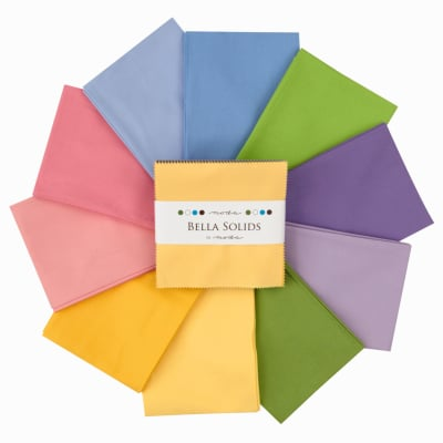 Moda Bella Solids 5'' Charm Pack 30's Colors