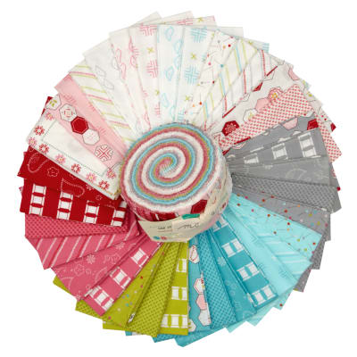 Moda Sew Stitchy 2.5'' Jelly Roll