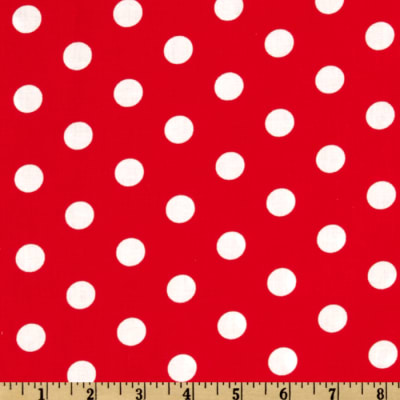 Spot On Polka Dots Red