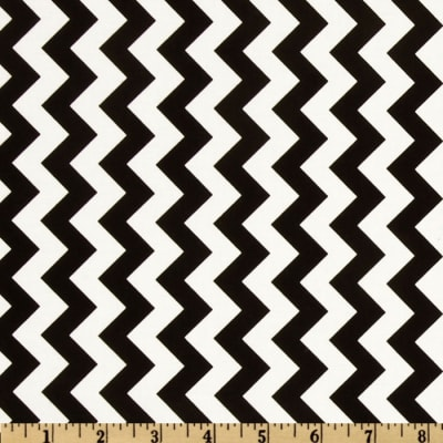 Riley Blake Chevron Small Black