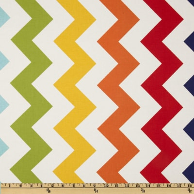 Riley Blake Chevron Large Rainbow