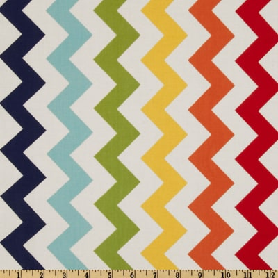 Riley Blake Chevron Medium Rainbow