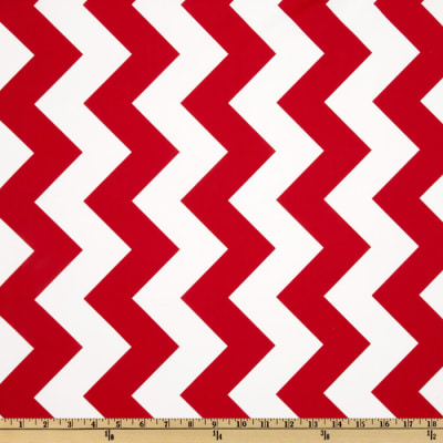 Riley Blake Chevron Large Red