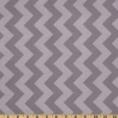 Riley Blake Chevron Medium Tonal Gray