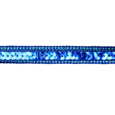 1/2'' Sparkle Edge Sequin Trim Royal