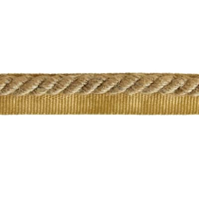"Expo 1/4"" Emmerson Twisted Lip Cord Natural"