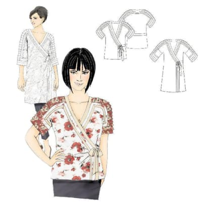 Hot Patterns Tokyo Joe Top & Tunic Pattern