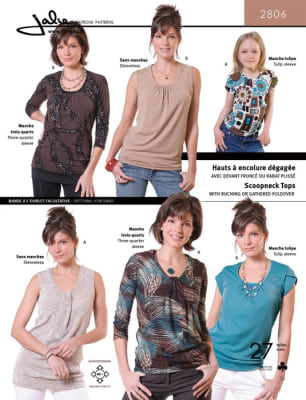 Jalie Scoop NeckTop Pattern