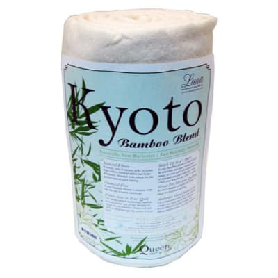 Kyoto Bamboo Rayon Blend Batting (90'' x 108'') Queen