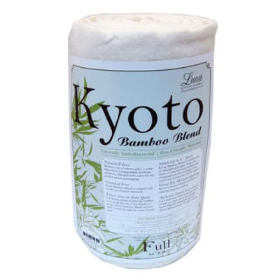 Kyoto Bamboo Rayon Blend Batting (81'' x 96'') Full