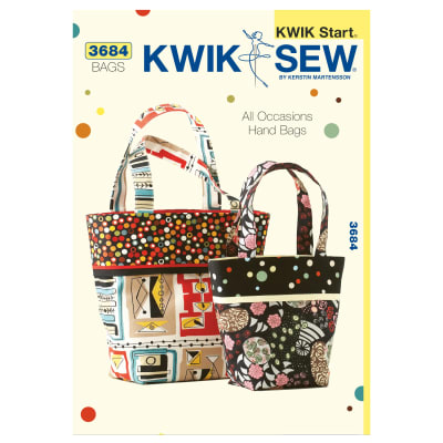 Kwik Sew Craft: All Occasions Hand Bags Pattern