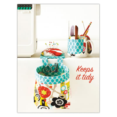 Kwik Sew Craft Scrap catcher with Pincushion and Cup organizer (3886) Pattern