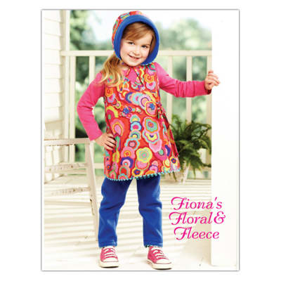 Kwik Sew Toddler Fiona's Floral & Fleece Outfit (3908) Pattern
