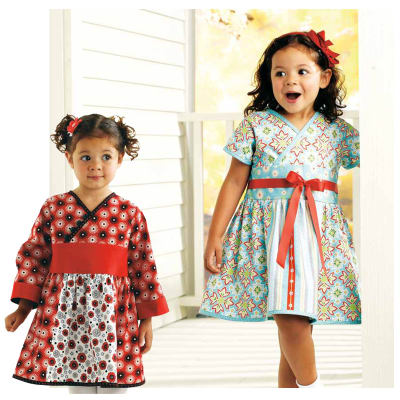 Kwik Sew Toddlers' Dresses (3921) Pattern