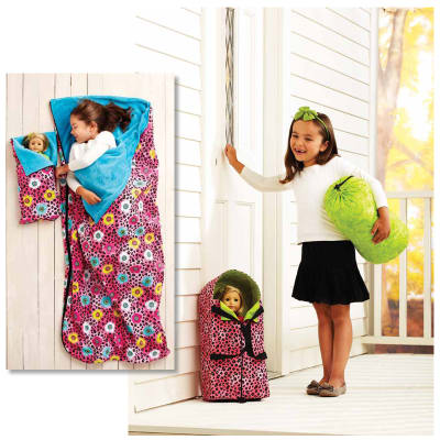 Kwik Sew Doll Carrier, Sleeping Bag, & Stuff Bag (3909) Pattern
