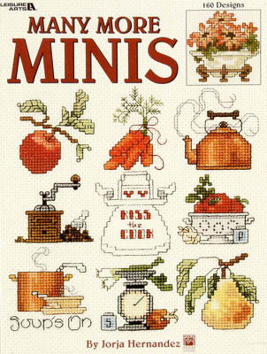 Leisure Arts ''Many More Minis'' Cross Stitch Book