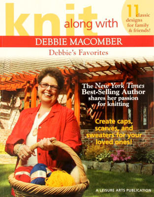 "Leisure Arts Knit Along with Debbie Macomber ""Debbie's Favorites"" Book"