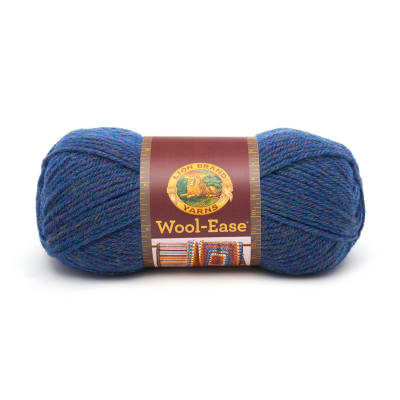 Lion Brand Wool-Ease Yarn (115) Blue Mist